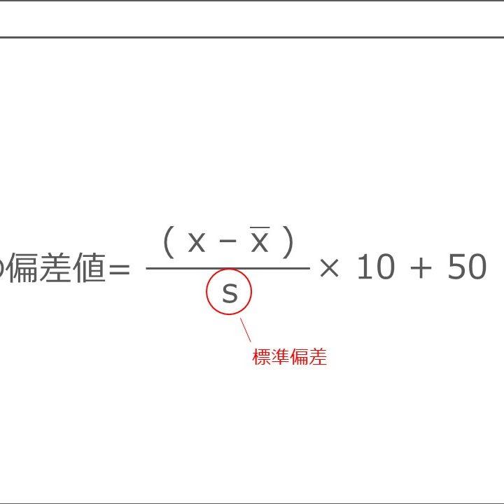平均値・分散・標準偏差と偏差値|統計学基礎